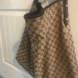 Authentic Classic Gucci Hobo